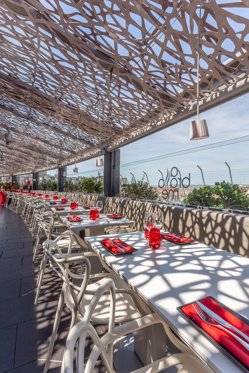 Restaurante Mediterraneo con vistas