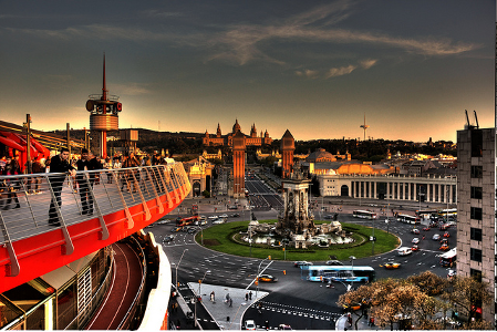 Vistas-panoramicas-Restaurante-Barcelona-Abrassame